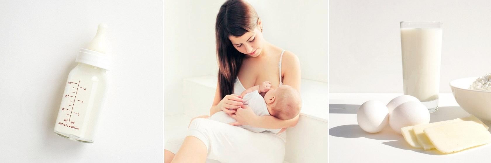 Диета кормящей мамы при аллергии на белок коровьего молока у ребенка