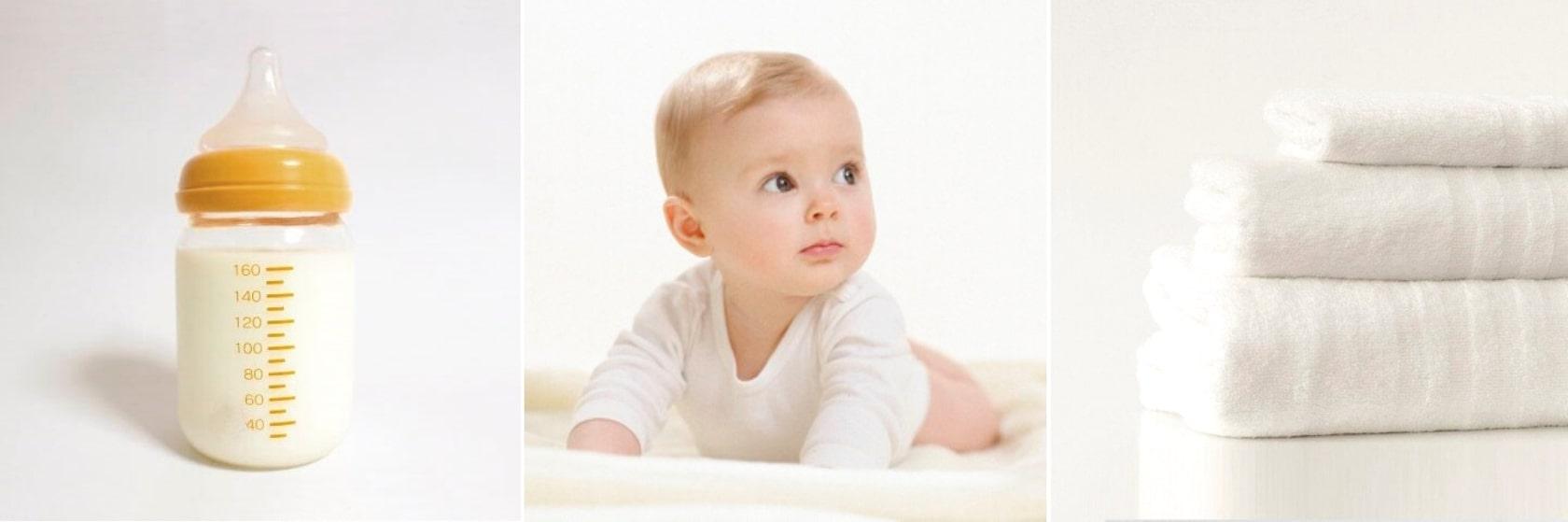 Почему ребенок срыгивает фонтаном после кормления смесью
